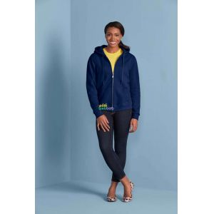 GIL18600 - HEAVY BLEND™ LADIES' FULL ZIP HOODED SWEATSHIRT