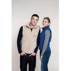KA913 - LUCA - ZIP THROUGH MICRO FLEECE GILET