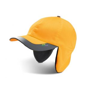 KP122 - FLUORESCENT WINTER CAP - 6 PANELS