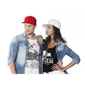 KP903 - FLEXFIT® BRUSHED COTTON CAP WITH PEAK - 6 PANELS
