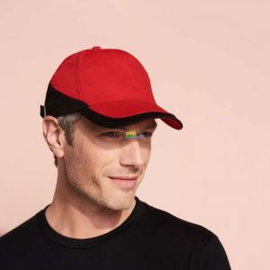 SO00595 - BOOSTER 5 PANEL CONTRASTED CAP
